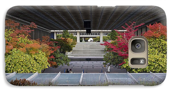 Galaxy Case featuring the photograph Autumn At Simon Fraser U. by Maria Janicki