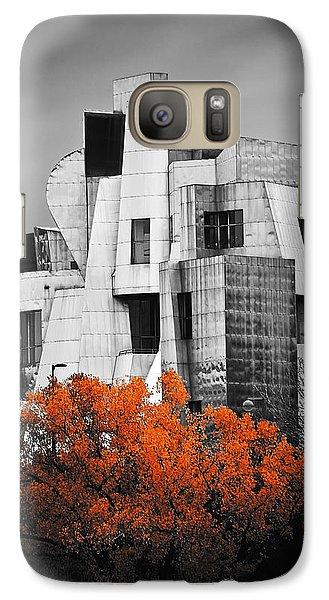 autumn at the Weisman Galaxy S7 Case by Matthew Blum