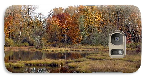 Galaxy Case featuring the photograph Autumn Changes  by I'ina Van Lawick