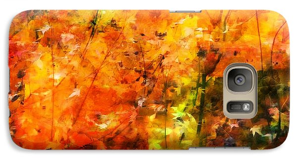 Galaxy Case featuring the digital art Autumn Colors by Aaron Berg