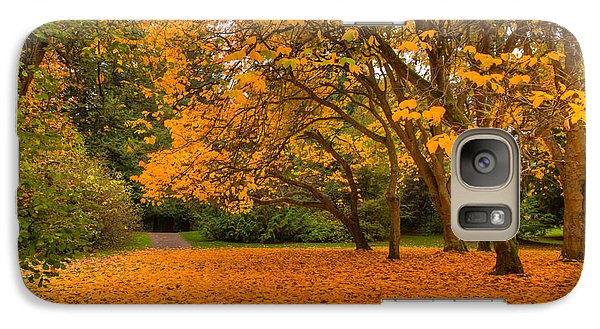 Galaxy Case featuring the photograph Autumn Colors I by Chris McKenna