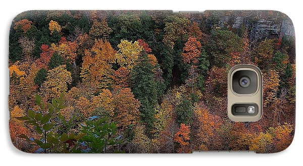 Galaxy Case featuring the photograph Autumn Colors In Taughannock State Park Ithaca New York by Paul Ge