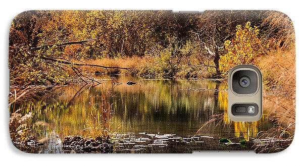 Galaxy Case featuring the photograph Autumn Day by John Johnson