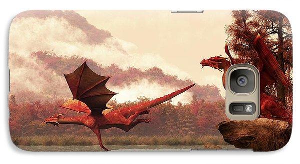 Dungeon Galaxy S7 Case - Autumn Dragons by Daniel Eskridge