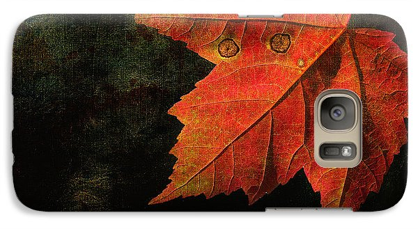 Galaxy Case featuring the photograph Autumn Eyes by Kathi Mirto