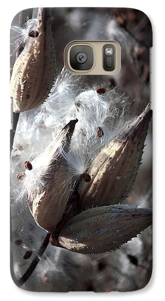 Galaxy Case featuring the photograph Autumn Fairies  by Penny Hunt