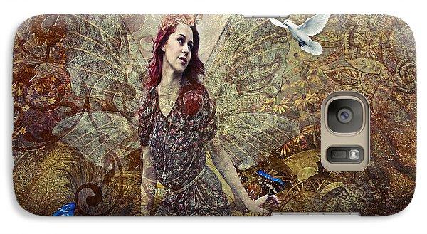Galaxy Case featuring the digital art Autumn Fairy by Riana Van Staden