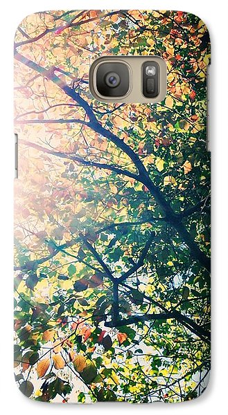 Galaxy Case featuring the photograph Autumn Flame by Kim Fearheiley