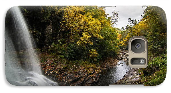 Galaxy Case featuring the photograph Autumn Flow by Serge Skiba