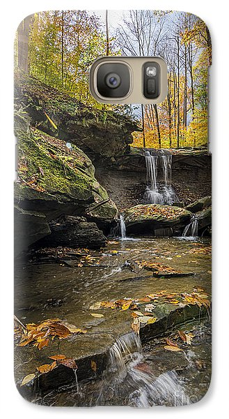 Autumn Flows Galaxy S7 Case by James Dean