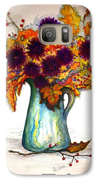 Galaxy Case featuring the painting Autumn Foilage by Rae Chichilnitsky