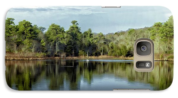 Galaxy Case featuring the photograph Autumn Green Photo Art by Constantine Gregory