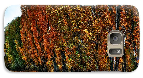 Galaxy Case featuring the photograph Autumn Impression by Thomas Born