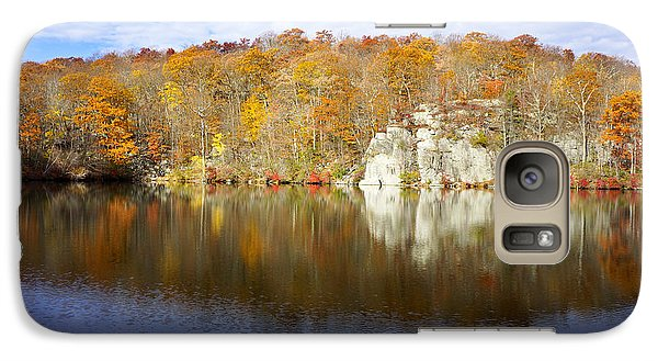 Galaxy Case featuring the photograph Autumn In Lake Canopus by Rafael Quirindongo