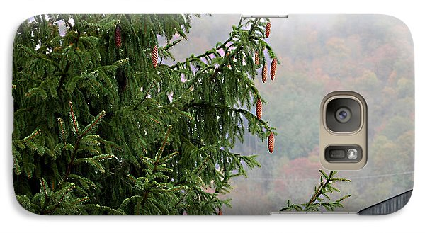 Galaxy Case featuring the photograph Autumn In North Carolina by Linda Cox
