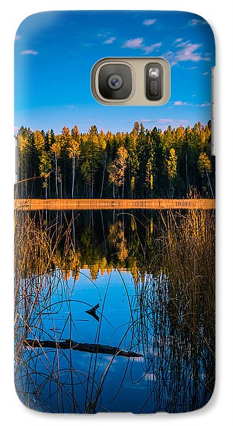 Galaxy Case featuring the photograph Autumn In The Kootenays by Rob Tullis