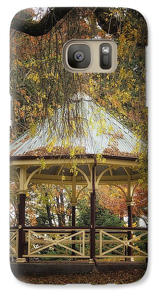 Galaxy Case featuring the photograph Autumn In The Park by Kim Andelkovic