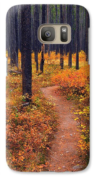 Autumn In Yellowstone Galaxy S7 Case