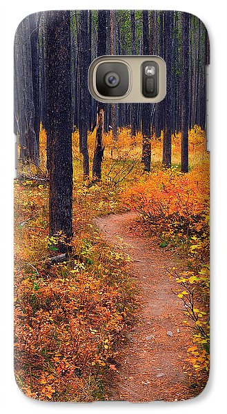 Galaxy Case featuring the photograph Autumn In Yellowstone by Raymond Salani III