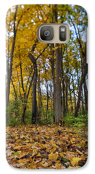 Galaxy Case featuring the photograph Autumn Is Here by Sebastian Musial