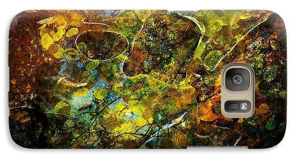 Galaxy Case featuring the photograph Autumn by James Bethanis