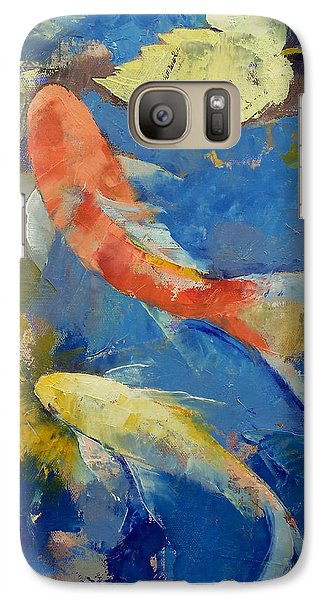 Autumn Koi Garden Galaxy S7 Case