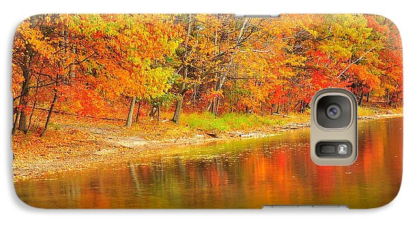 Galaxy Case featuring the photograph Fire Balls by Terri Gostola