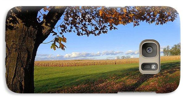 Galaxy Case featuring the photograph Autumn Landscape by Joseph Skompski
