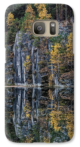 Galaxy Case featuring the photograph Autumn Lanscape 5 by Vladimir Kholostykh