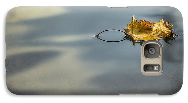 Galaxy Case featuring the photograph Autumn Leaf by Yelena Rozov