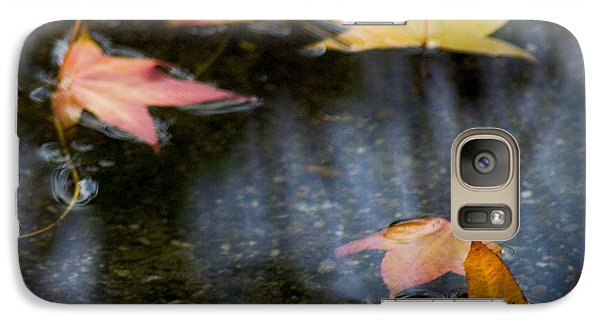 Autumn Leaves On Water Galaxy S7 Case