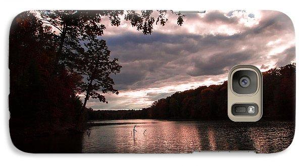 Galaxy Case featuring the photograph Autumn Light by Haren Images- Kriss Haren