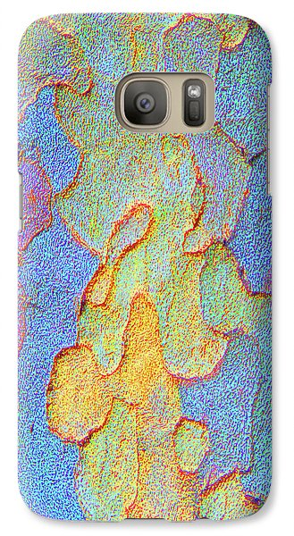 Galaxy Case featuring the photograph Autumn London Plane Tree Abstract 4 by Margaret Saheed