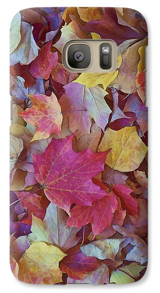 Galaxy Case featuring the photograph Autumn Maple Leaves - Phone Case by Gregory Scott