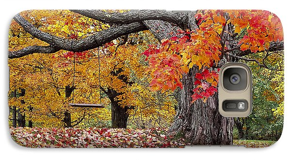 Galaxy Case featuring the photograph Autumn Memories by Alan L Graham