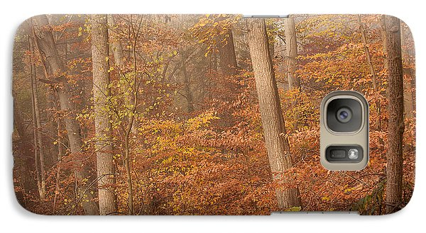 Galaxy Case featuring the photograph Autumn Mist by Patrice Zinck