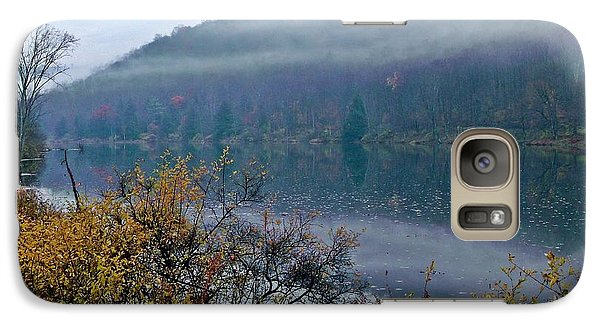 Galaxy Case featuring the photograph Autumn Myst by Christian Mattison