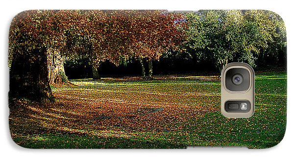 Galaxy Case featuring the photograph Autumn by Nina Ficur Feenan