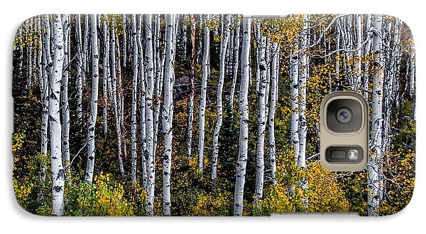 Galaxy Case featuring the photograph Autumn On Mcclure Pass by Ken Smith