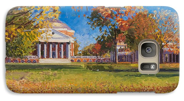Autumn On The Lawn Galaxy S7 Case