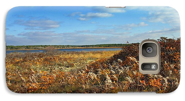 Galaxy Case featuring the photograph Autumn On The New England Coast by Brooke T Ryan