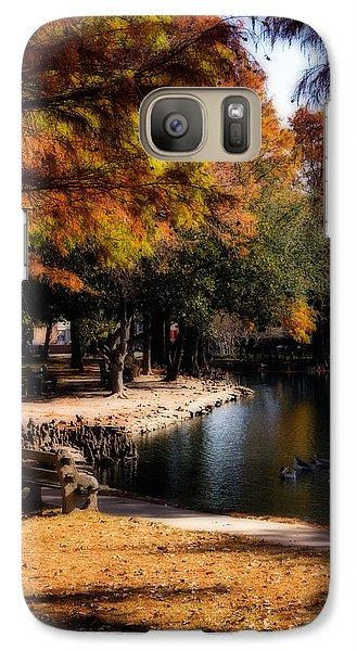 Autumn On Theta Galaxy S7 Case