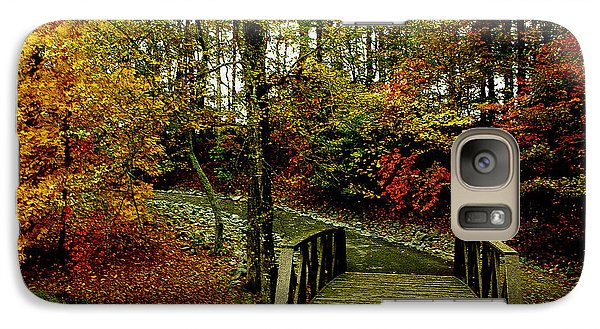 Galaxy Case featuring the photograph Autumn Peace by James C Thomas