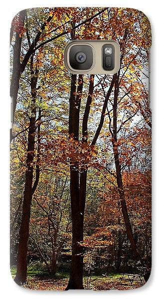 Galaxy Case featuring the photograph Autumn Picnic by Debbie Oppermann