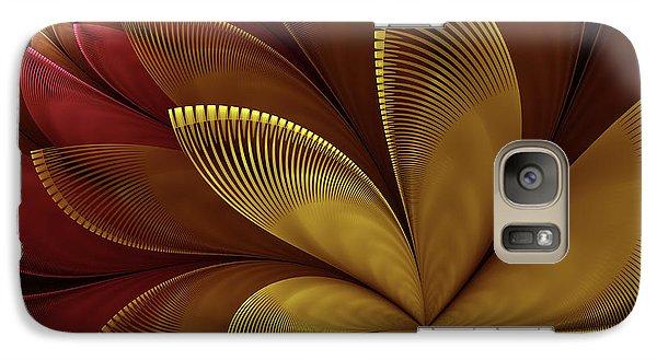 Galaxy Case featuring the digital art Autumn Plant by Gabiw Art
