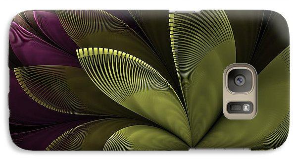 Galaxy Case featuring the digital art Autumn Plant II by Gabiw Art