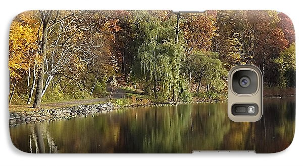 Galaxy Case featuring the photograph Autumn Reflections by Bill Woodstock