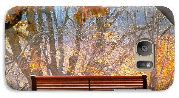 Galaxy Case featuring the photograph Autumn Retreat by France Laliberte