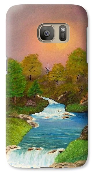 Galaxy Case featuring the painting Autumn Retreat by Sheri Keith
