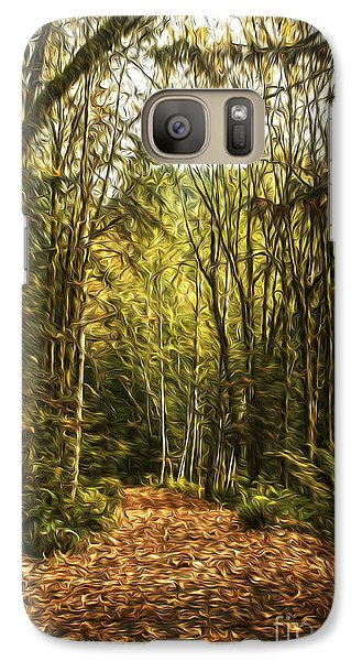 Galaxy Case featuring the photograph Autumn by Sandi Mikuse